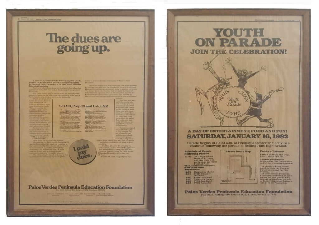 Peninsula News, 1980,1982, Peninsula Education Foundation